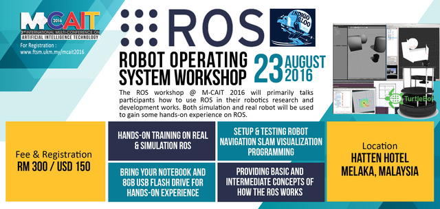 robot operating system ros essay The robot operating system (ros) is not an actual operating system, but a  framework and set of tools that provide functionality of an operating system on a.